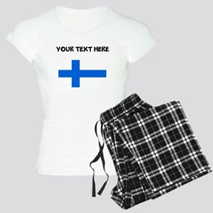 Custom Finland Flag Pajamas