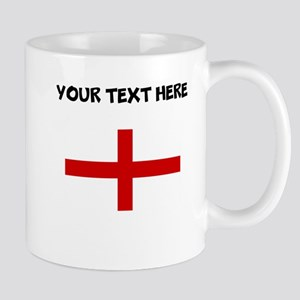 Custom England Flag Mugs