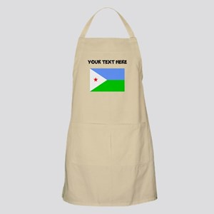 Custom Djibouti Flag Apron