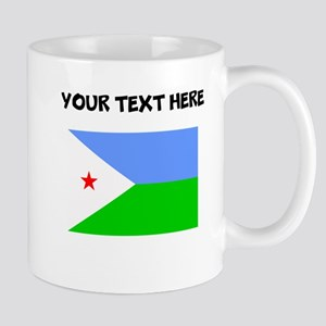 Custom Djibouti Flag Mugs