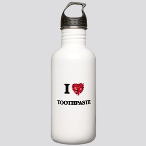 I love Toothpaste Stainless Water Bottle 1.0L
