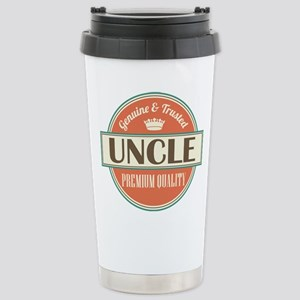 Uncle Fathers Day Stainless Steel Travel Mug