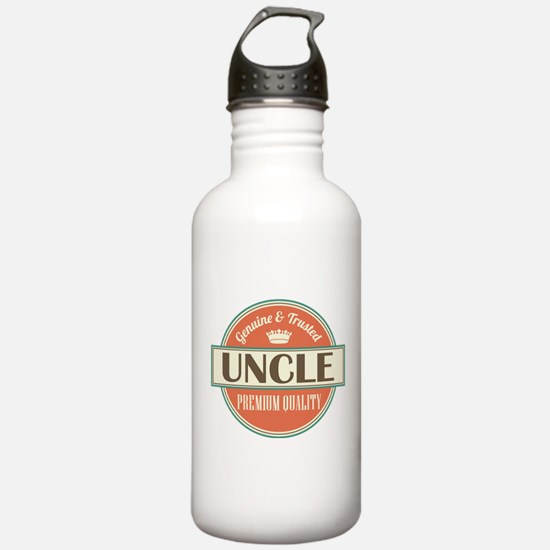 Uncle Fathers Day Water Bottle