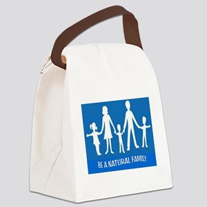 FAMILY FLAG Canvas Lunch Bag