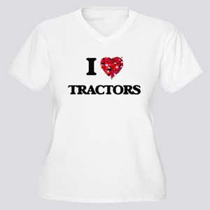 I love Tractors Plus Size T-Shirt