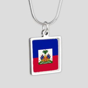 Flag of Haiti Necklaces