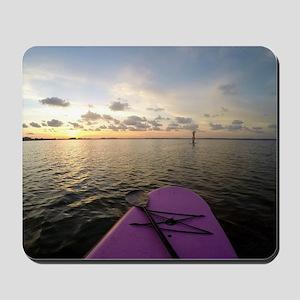 Paddle sunset Mousepad