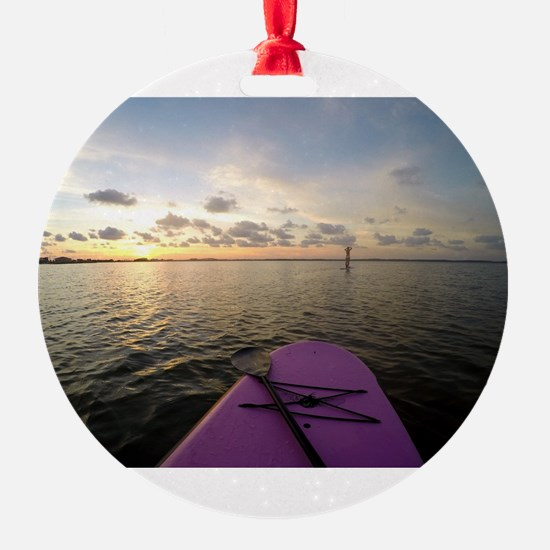 Paddle sunset Ornament