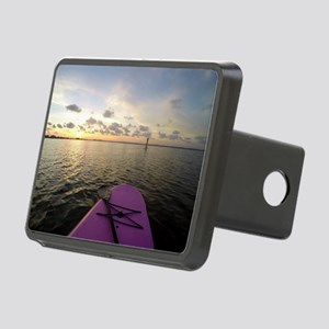 Paddle sunset Rectangular Hitch Cover