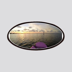 Paddle sunset Patch