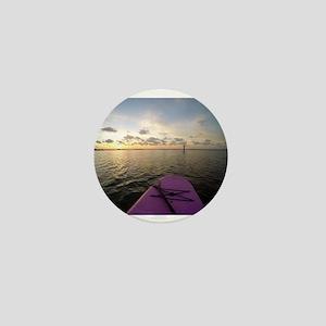 Paddle sunset Mini Button
