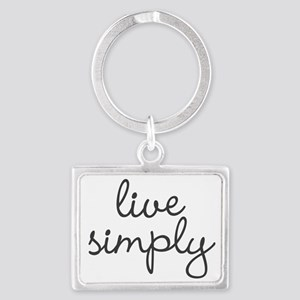Live Simply Keychains