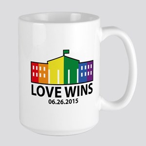 Love Wins Large Mug