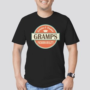 gramps grandpa Men's Fitted T-Shirt (dark)