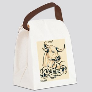 The Taurus Tat Canvas Lunch Bag