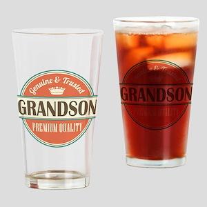 grandson Drinking Glass
