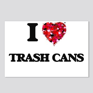 I love Trash Cans Postcards (Package of 8)