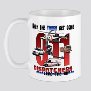 Dispatchers lead the way Mug