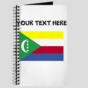 Custom Comoros Flag Journal