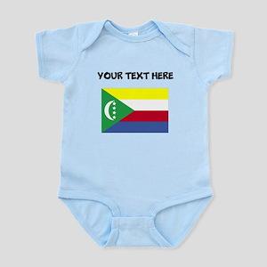 Custom Comoros Flag Body Suit