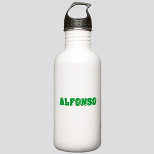 Alfonso Name Weathered Stainless Water Bottle 1.0L