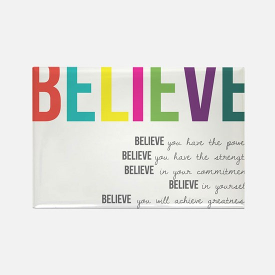 Cute Inspirational Rectangle Magnet (10 pack)