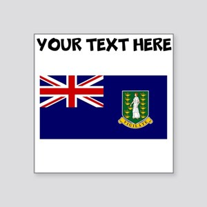 Custom British Virgin Islands Flag Sticker