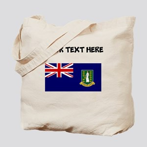 Custom British Virgin Islands Flag Tote Bag