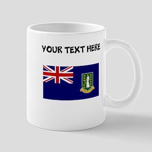 Custom British Virgin Islands Flag Mugs