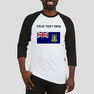 Custom British Virgin Islands Flag Baseball Jersey