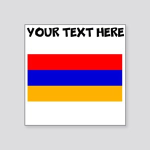 Custom Armenia Flag Sticker