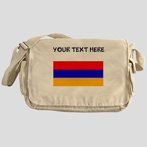 Custom Armenia Flag Messenger Bag
