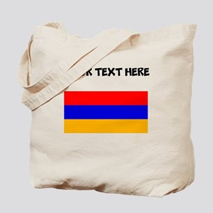 Custom Armenia Flag Tote Bag