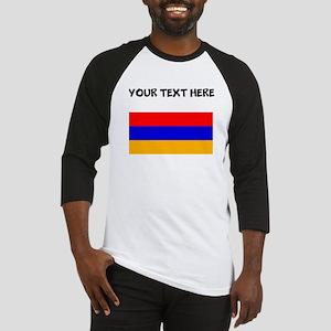 Custom Armenia Flag Baseball Jersey