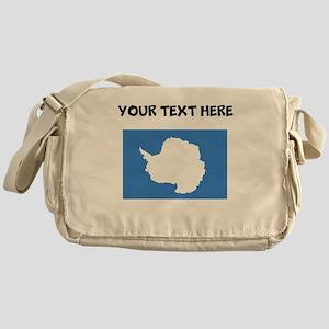 Custom Antarctica Flag Messenger Bag