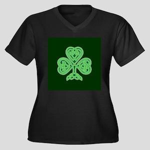 Celtic Shamrock - St Patricks Da Plus Size T-Shirt