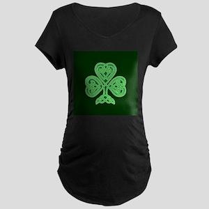 Celtic Shamrock - St Patricks Da Maternity T-Shirt