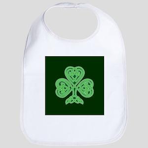 Celtic Shamrock - St Patricks Day Bib