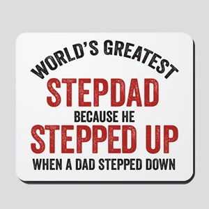 World's Greatest Stepdad, Stepdad Stepped Mous