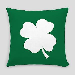 St Patricks Day Shamrock Everyday Pillow