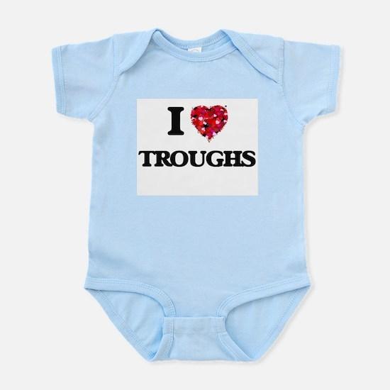 I love Troughs Body Suit