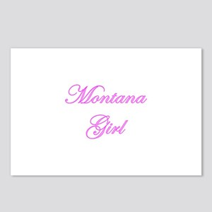 Montana Girl Postcards (Package of 8)