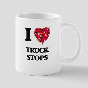 I love Truck Stops Mugs