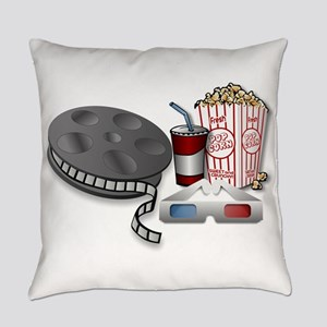 3D Cinema Everyday Pillow