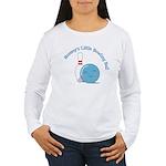 Mommy BB (Blue) Women's Long Sleeve T-Shirt