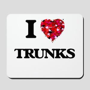 I love Trunks Mousepad
