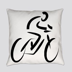 Cyclist Everyday Pillow