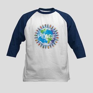 World Peace Kids Tee Baseball Jersey