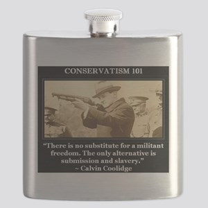 "CONSERVATISM 101- ""There is no substitute fo Flask"