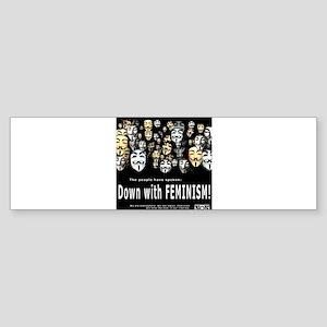 The People Have Spoken Bumper Sticker